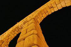 Free Roman Aqueduct At Segovia Stock Image - 17264371