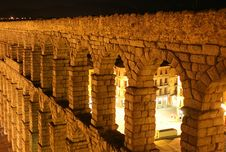 Free Roman Aqueduct At Segovia Stock Photos - 17264403