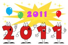 Free 2011 New Year Stock Photos - 17264423