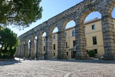 Free Roman Aqueduct At Segovia Stock Photos - 17264463