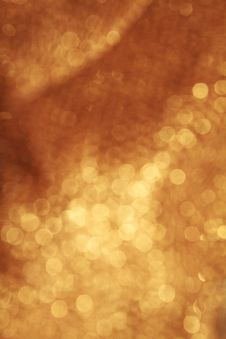 Free Abstract Golden Background Stock Image - 17264761