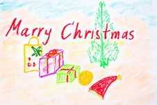 Free Marry Christmas Stock Photo - 17264820