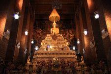 Free Golden Buddha Image Royalty Free Stock Photo - 17265095