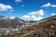 Free Snow Mountain Royalty Free Stock Image - 17265096