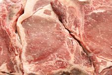 Texture Of Beef T-bone Stock Image