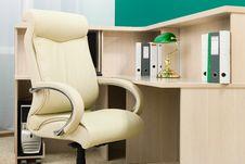 Free Leather Armchair Stock Photos - 17266143