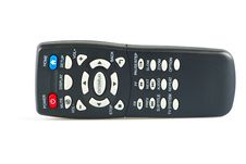 Free Tv Remote Control Stock Photo - 17266270