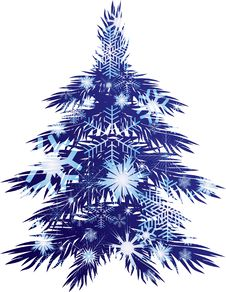 Free Christmas Tree Royalty Free Stock Image - 17266766