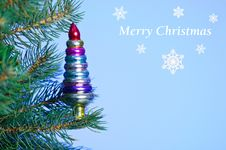 Free Christmas Card. Royalty Free Stock Images - 17267009