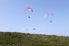 Free Paragliding Stock Photo - 17267920
