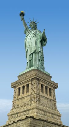 The Liberty Statue, New York Royalty Free Stock Image