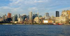 Free Manhattan Skyline Royalty Free Stock Image - 17269026