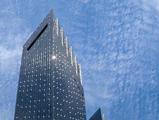 Free Glass Reflecting Skyscraper Stock Photo - 17269040