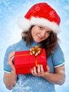 Free Christmas Girl Stock Photos - 17271153