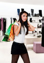 Free Young Women In The Shop Stock Images - 17276074