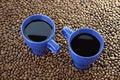 Free Mugs With Coffee Royalty Free Stock Photo - 17276465