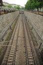 Free Train Tracks Royalty Free Stock Image - 17278476
