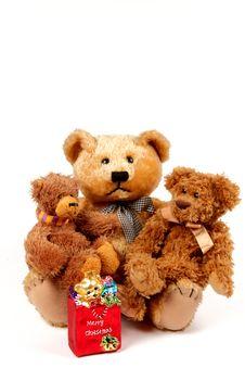 Free Christmas Bears Stock Photos - 17270733