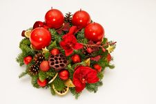 Free Red Advent Wreath Stock Images - 17271164