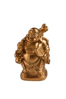 Golden Chinese Buddha Stock Photography