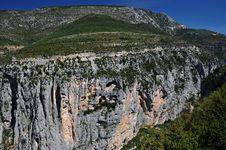 Verdon Canyon - Gorges Du Verdon Royalty Free Stock Image