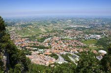 Free Repubblica Di San Marino - Postcard Up View Of Tow Stock Image - 17272051