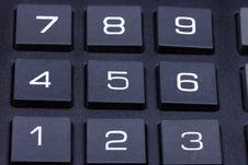 Keyboard Of A Calculator Royalty Free Stock Photos
