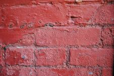 Free Red Wall Royalty Free Stock Images - 17272919