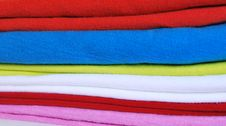 Free Bright Fabrics Side View Royalty Free Stock Images - 17273089