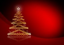 Free Abstract Christmas Tree Royalty Free Stock Photo - 17273635
