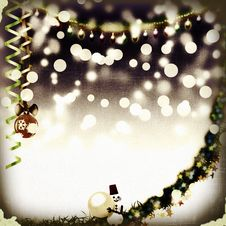 Free Christmas Vintage Background Royalty Free Stock Images - 17273869