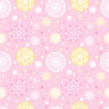 Free Snowflakes Background Stock Images - 17274434