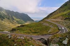 Free Road In The Mountains - Transfagarasan Stock Photo - 17274600
