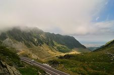 Free Road In The Mountains - Transfagarasan Royalty Free Stock Images - 17274629