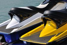 Free Two Motor Boat Detail Stock Photography - 17274872