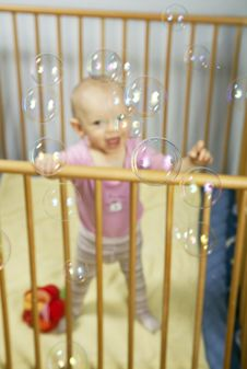 Bubbles Fun Stock Image