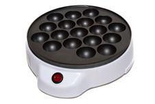 Free Dutch Pancake Maker On White Stock Image - 17275471