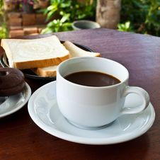 Free Cup Of Coffee Stock Photo - 17275780