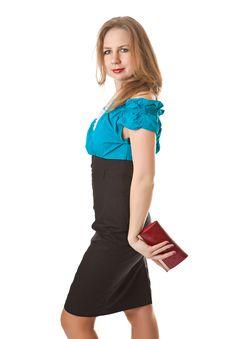 Free Girl With Handbag Stock Photography - 17276232
