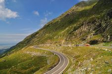 Free Road In The Mountains - Transfagarasan Stock Images - 17276314