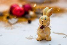 Bunny Toy Stock Photo