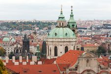 Free View Of Prague From The Top Royalty Free Stock Images - 17276959