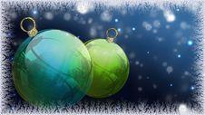Free Christmas Balls Stock Image - 17277131