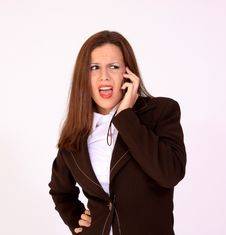 Free Girl On The Phone Stock Photo - 17277210