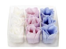 Soap In The Shape Of A Flower Stock Photos