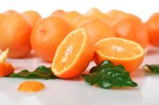 Free Fresh Orange. Royalty Free Stock Photos - 17278718