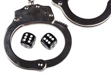 Free Handcuffs With Things Gaming Stock Photography - 17279302