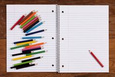 Free Notebook For Records Stock Photos - 17279413