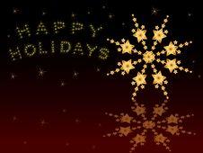 Free Snowflake Background Stock Photography - 17279852
