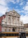 Free Port Ferrovia And Church In Venice Italy Stock Photo - 17288110